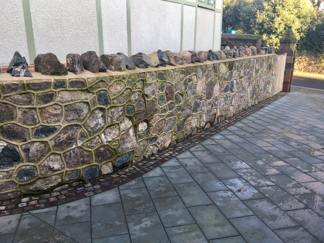 council house stone wall